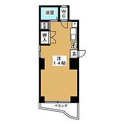 高橋第3ビル[3階]の間取り