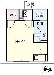 Branche葵[3階]の間取り
