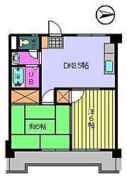 SAKURA HOUSE[403 号室号室]の間取り