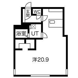 菊水駅 6.1万円