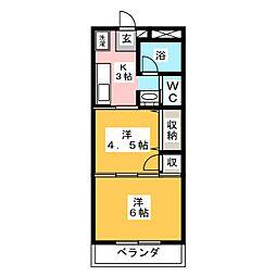 スペリオーレ[3階]の間取り