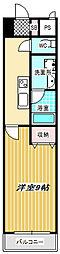 FLAT GOATLE(フラットゴートル)[402号室]の間取り