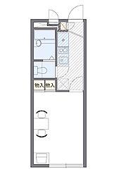 ヤマサHOUSE(25446-211)[2階]の間取り