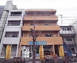 京都府京都市左京区鹿ケ谷寺ノ前町の賃貸マンションの外観