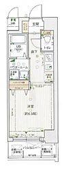 エスライズ桜ノ宮II[501号室]の間取り