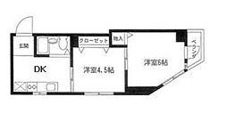 第3岡田ビル[3階]の間取り