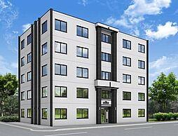 北海道札幌市東区北三十六条東15丁目の賃貸マンションの外観
