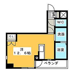 ランドハウス浄心[6階]の間取り