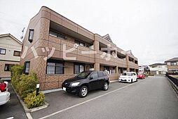 兵庫県姫路市網干区坂出の賃貸アパートの外観