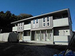 神奈川県大和市草柳3丁目の賃貸アパートの外観