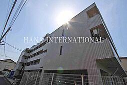 埼玉県草加市谷塚上町の賃貸マンションの外観