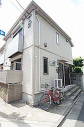 東京都品川区大井4丁目の賃貸アパートの外観