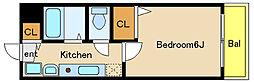 ライフステージM1[6階]の間取り