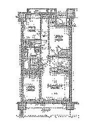 クリオ見沼代親水公園[6階]の間取り