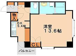 迎陽館[2階]の間取り