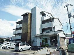 滋賀県大津市北大路1丁目の賃貸マンションの外観