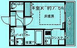 ヴィンヤード鷺沼[4階]の間取り