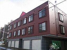 北海道札幌市西区発寒六条14丁目の賃貸アパートの外観
