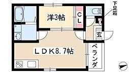 矢田駅 6.6万円