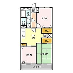 M.Sマンション[305号室]の間取り