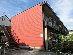 大阪府茨木市南安威1丁目の賃貸アパートの外観