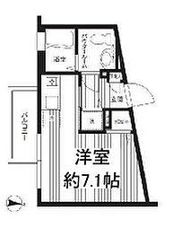 プロスパー下井草[2階]の間取り