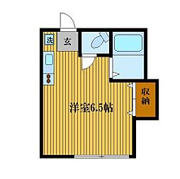 ファインコーポTAKISHIMA[2階]の間取り