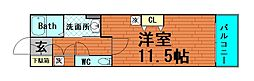 プレミュール阿波座[6階]の間取り