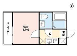 Green Park 桜台(グリーン パーク サクラダイ)[1階]の間取り