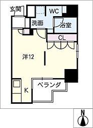DOMUS&PLEASURE[5階]の間取り