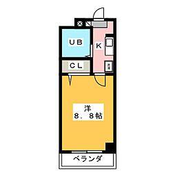 ソレアード伊藤[3階]の間取り