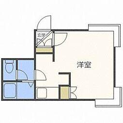 リラハイム円山[1階]の間取り