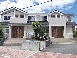 大阪府貝塚市澤の賃貸アパートの外観
