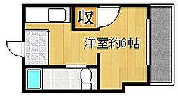 活水ビル[1階]の間取り