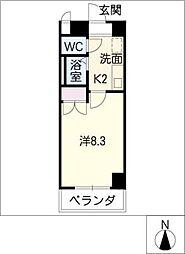 STプラザ八事[7階]の間取り
