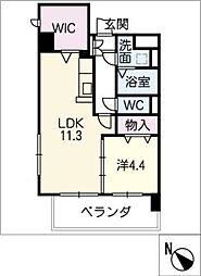 シンフォニー半田[2階]の間取り