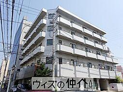 群馬県高崎市栄町の賃貸マンションの外観
