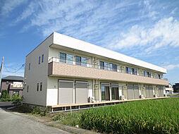 埼玉県熊谷市弥藤吾の賃貸アパートの外観