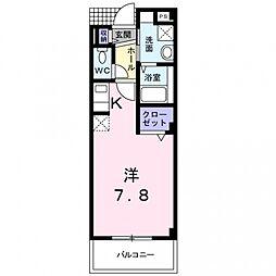 T・コート21[2階]の間取り