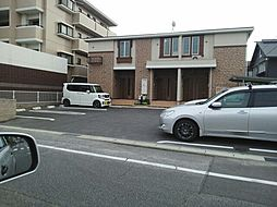 愛知県安城市浜富町の賃貸アパートの外観