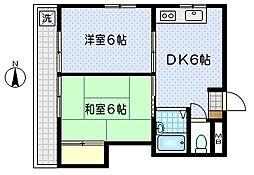 第2上田ビル[3階]の間取り