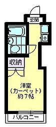 TOP成城学園第2[4階]の間取り