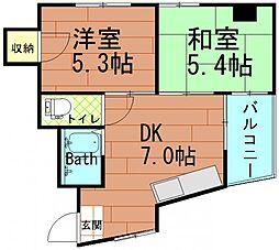 成和ビル[2階]の間取り