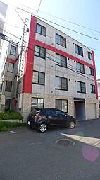 北海道札幌市豊平区平岸二条9の賃貸マンションの外観