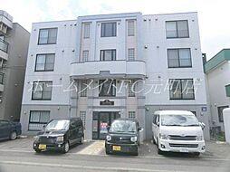 北海道札幌市東区北二十四条東13丁目の賃貸マンションの外観