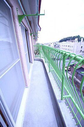 5階最上階で眺...
