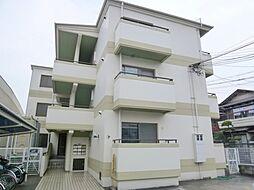 兵庫県宝塚市中筋8丁目の賃貸マンションの外観
