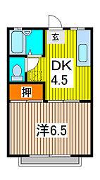 テキスタイルホーム[2階]の間取り