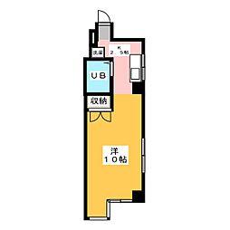 丸の内ハートビル[6階]の間取り