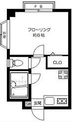 シティハイツ三ノ輪[3階]の間取り